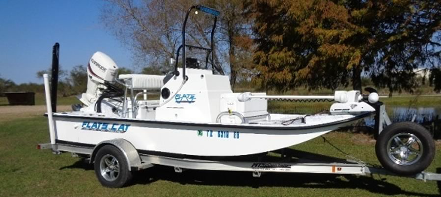 17 foot Flats Cat shallow water catarmaran fishing boat
