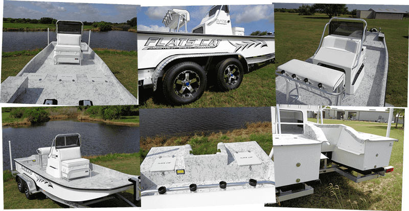 picture of 21 ft Flats Cat Shallow water fishing boat