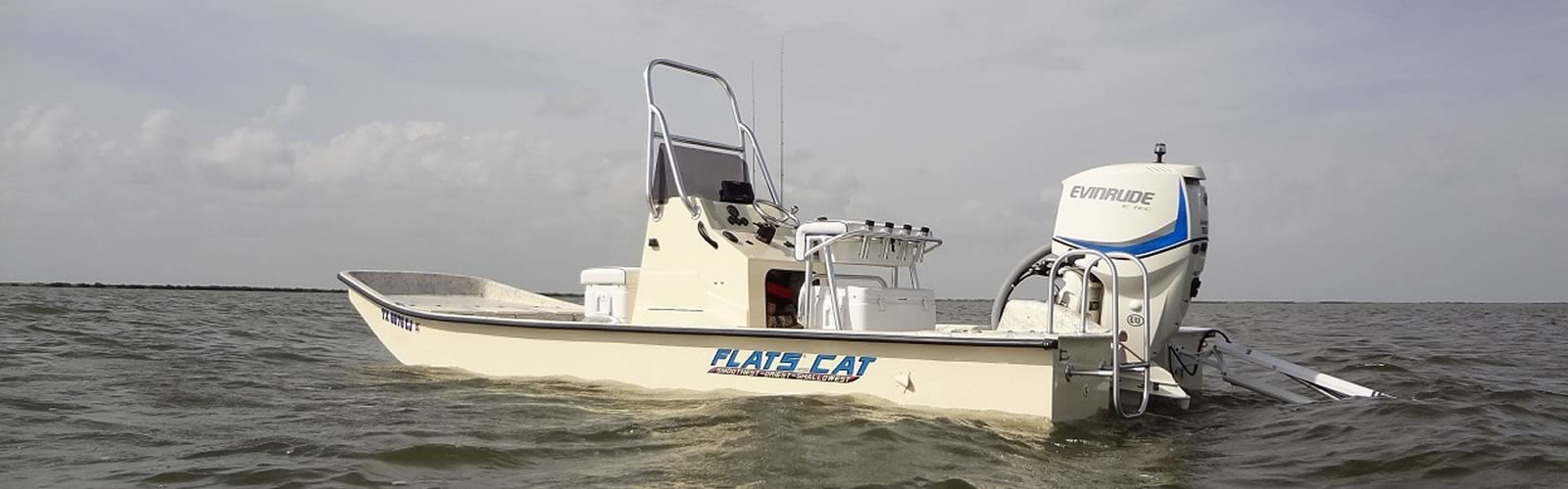 Flats cat boat shallow water catamaran flats fishing boat for Shallow water fishing boats